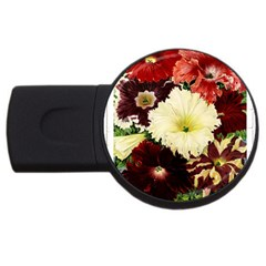 Flowers 1776585 1920 Usb Flash Drive Round (4 Gb) by vintage2030