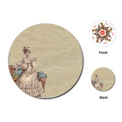 Background 1775324 1920 Playing Cards (round)  by vintage2030