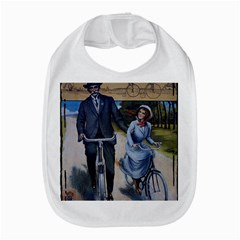 Couple On Bicycle Bib