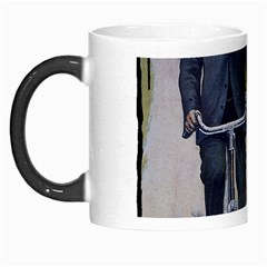 Couple On Bicycle Morph Mugs by vintage2030