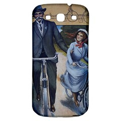 Couple On Bicycle Samsung Galaxy S3 S Iii Classic Hardshell Back Case by vintage2030