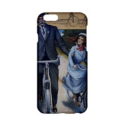 Couple On Bicycle Apple Iphone 6/6s Hardshell Case by vintage2030