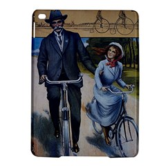 Couple On Bicycle Ipad Air 2 Hardshell Cases by vintage2030