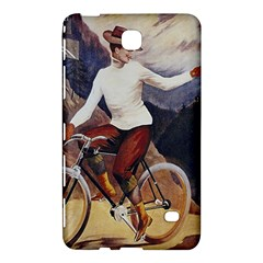 Woman On Bicycle Samsung Galaxy Tab 4 (8 ) Hardshell Case  by vintage2030
