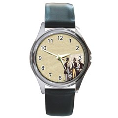 Background 1775359 1920 Round Metal Watch by vintage2030