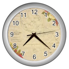 Background 1775383 1920 Wall Clock (silver) by vintage2030