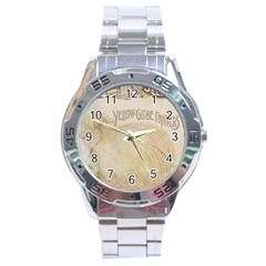 Background 1776456 1280 Stainless Steel Analogue Watch by vintage2030