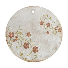 Background 1775372 1920 Round Ornament (two Sides) by vintage2030
