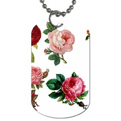 Roses 1770165 1920 Dog Tag (one Side) by vintage2030
