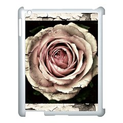 Vintage Rose Apple Ipad 3/4 Case (white) by vintage2030