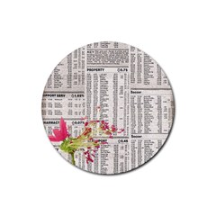 Background 1770129 1920 Rubber Round Coaster (4 Pack)  by vintage2030