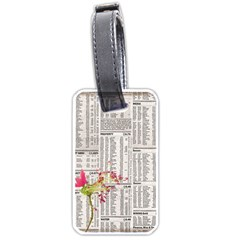 Background 1770129 1920 Luggage Tags (two Sides) by vintage2030
