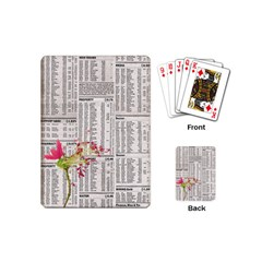 Background 1770129 1920 Playing Cards (mini)  by vintage2030