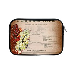 Letter Floral Apple Ipad Mini Zipper Cases by vintage2030