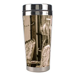 Flea Market Redord Player Stainless Steel Travel Tumblers by vintage2030