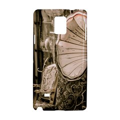 Flea Market Redord Player Samsung Galaxy Note 4 Hardshell Case by vintage2030