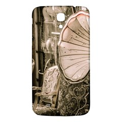 Flea Market Redord Player Samsung Galaxy Mega I9200 Hardshell Back Case by vintage2030