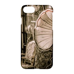 Flea Market Redord Player Apple Iphone 7 Hardshell Case by vintage2030