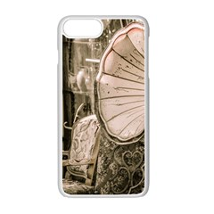 Flea Market Redord Player Apple Iphone 7 Plus Seamless Case (white) by vintage2030