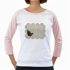 Tag Bird Girly Raglan