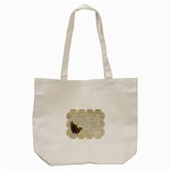 Tag Bird Tote Bag (cream)