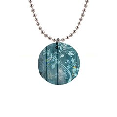 Green Tree Button Necklaces by vintage2030