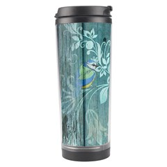 Green Tree Travel Tumbler by vintage2030