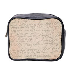 Letter Mini Toiletries Bag (two Sides) by vintage2030
