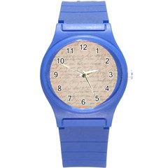 Letter Round Plastic Sport Watch (s) by vintage2030
