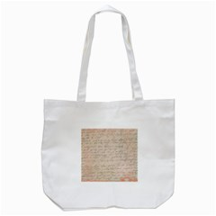 Letter Tote Bag (white)