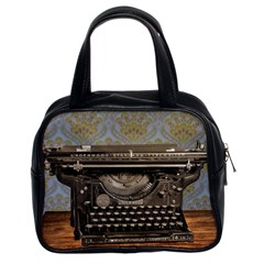 Typewriter Classic Handbag (two Sides) by vintage2030