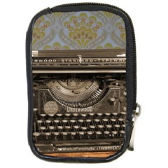 Typewriter Compact Camera Leather Case by vintage2030