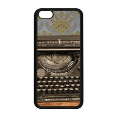 Typewriter Apple Iphone 5c Seamless Case (black)