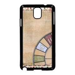 Circle Samsung Galaxy Note 3 Neo Hardshell Case (black) by vintage2030