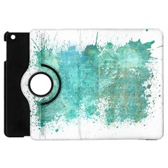 Splash Teal Apple Ipad Mini Flip 360 Case by vintage2030