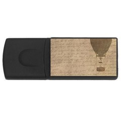 Letter Balloon Rectangular Usb Flash Drive by vintage2030
