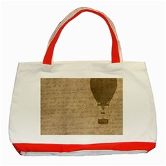 Letter Balloon Classic Tote Bag (red) by vintage2030