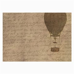 Letter Balloon Large Glasses Cloth (2 Side) by vintage2030