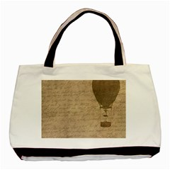 Letter Balloon Basic Tote Bag (two Sides) by vintage2030