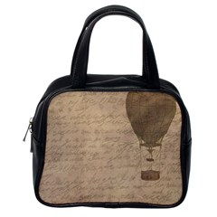 Letter Balloon Classic Handbag (one Side) by vintage2030