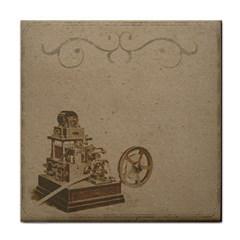 Camera Old Tile Coasters