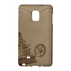 Camera Old Samsung Galaxy Note Edge Hardshell Case by vintage2030