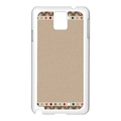 Background 1706649 1920 Samsung Galaxy Note 3 N9005 Case (white) by vintage2030