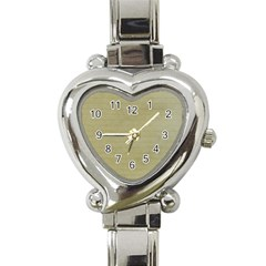 Old Letter Heart Italian Charm Watch by vintage2030