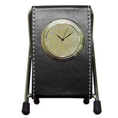 Old Letter Pen Holder Desk Clock by vintage2030
