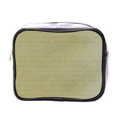 Old Letter Mini Toiletries Bag (one Side) by vintage2030