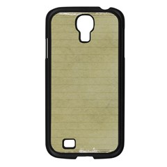 Old Letter Samsung Galaxy S4 I9500/ I9505 Case (black) by vintage2030
