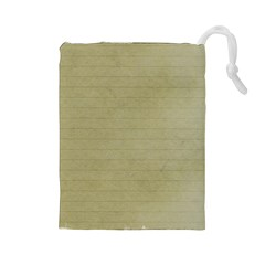 Old Letter Drawstring Pouch (large) by vintage2030