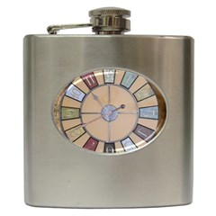 Collage 1706638 1920 Hip Flask (6 Oz) by vintage2030