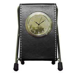Background 1706642 1920 Pen Holder Desk Clock by vintage2030